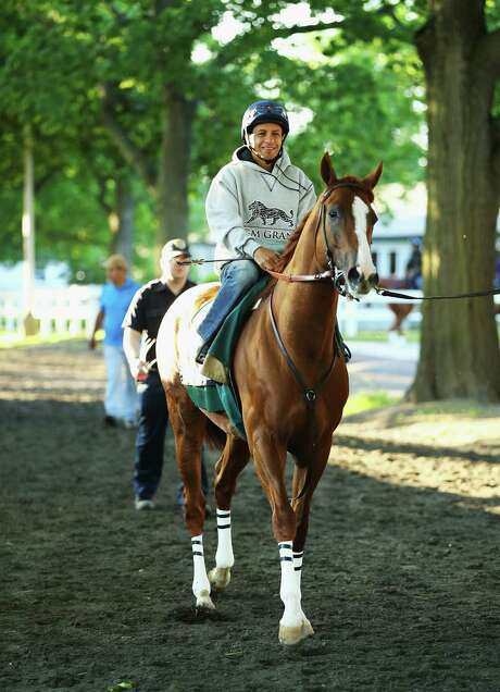 California Chrome has six wins in six races with Victor Espinoza aboard. Photo: Al Bello, Staff / 2014 Getty Images