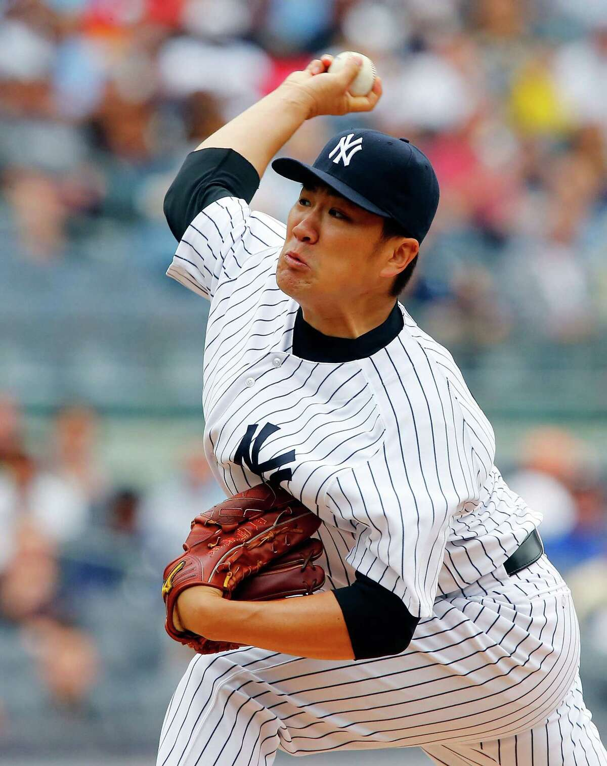Masahiro Tanaka delivered again for the up-and-down Yankees.
