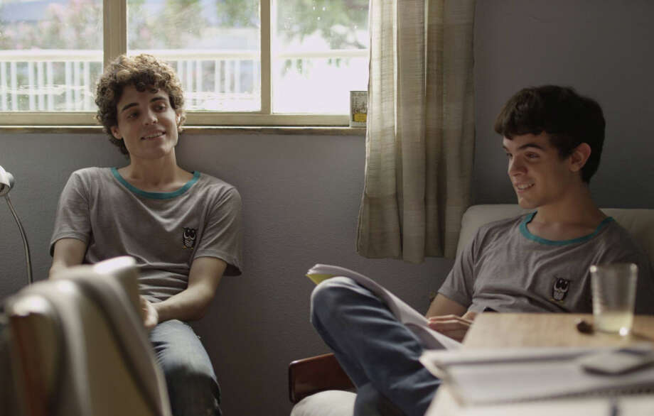 """Fabio Audi as Gabriel (left) and Ghilherme Lobo as Leo find their friendship growing in """"The Way He Looks."""" Photo: Frameline38 / ONLINE_CHECK"""