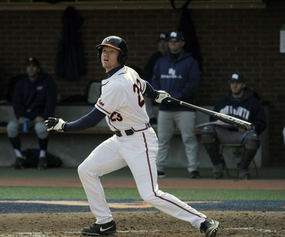 Competitive Balance Round A - No. 37 overall  Derek Fisher, OF, 6-3, 207, University of Virginia Photo: Diamond Images
