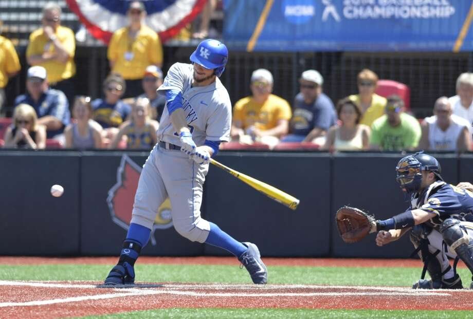2nd round - No. 42 overall  A.J. Reed, OF, 6-4, 240, University of Kentucky Photo: Timothy D. Easley, Associated Press
