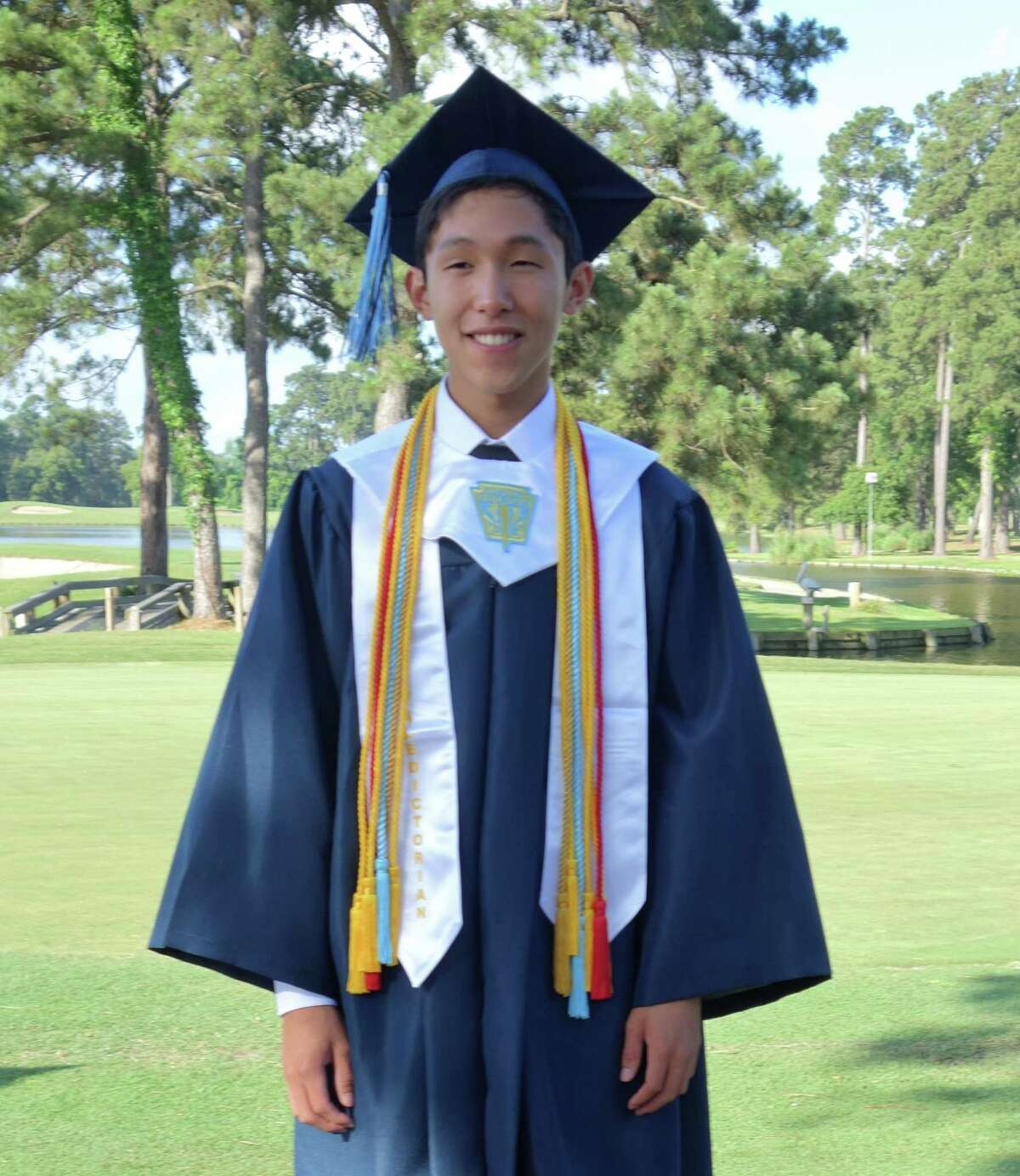 Kingwood High valedictorian Johnathan Hsu will major in economics at the University of Chicago.