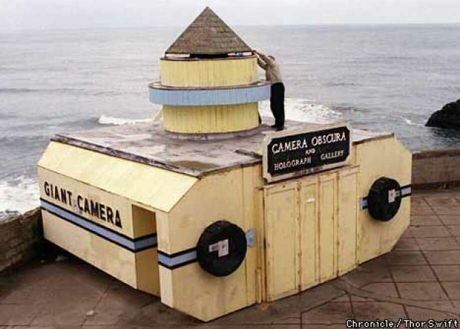 Take in views of the Pacific through the Camera Obscura at Ocean Beach. Based on a 15th century design by Leonardo da Vinci, this unusual device produces live 360-degree images of the Seal Rock Area.
