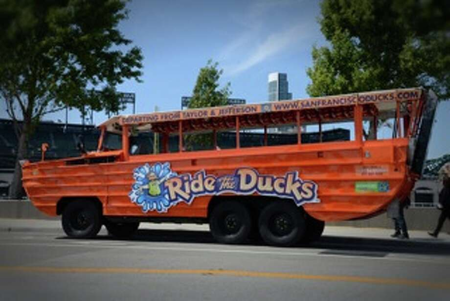 Roll through the historic neighborhoods of the city before cruising into the Bay on a Duck Tour.