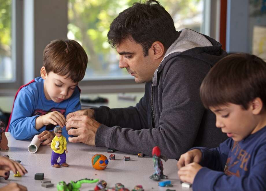Make a claymation movie at the Children's Creativity Museum in Yerba Buena Gardens.