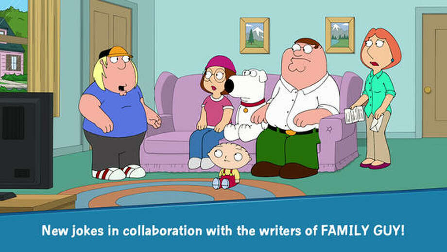 10. Family Guy: The Quest for StuffDaily revenue estimate: $98,193 Daily active users: NA   This adventure game from the writers of Family Guy includes a series of quests to save the city of Quahog. Top in-app purchases includes boxes, bins, and crates of clams and coins, ranging in price from $1.99 to $99.99. Photo: TinyCo, Inc.
