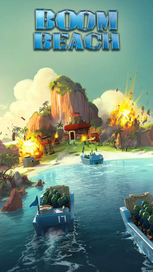 "6. Boom Beach Daily revenue estimate: $183,224 Daily active users: NA | This combat strategy game takes place on paradise islands invaded by the enemy. Before exploring the island, gamers must defeat ""beachheads."" In-app purchases include piles, pouches, bags, and boxes of ""diamonds."" The top seller is a ""Pile of Diamonds"" for $4.99. Photo: Supercell"