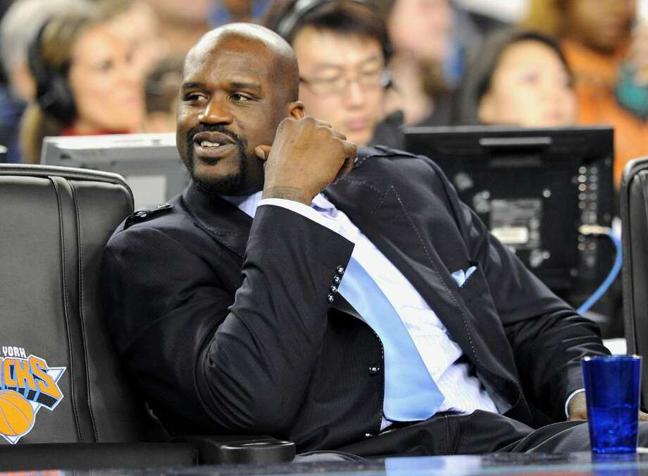 ARLINGTON, TX - FEBRUARY 14:  NBA player Shaquille O'Neal in the audience during the NBA All-Star Game held at Cowboys Stadium on February 14, 2010 in Arlington, Texas.  (Photo by Jason Merritt/Getty Images) *** Local Caption *** Shaquille O'Neal Photo: Jason Merritt, Getty Images / 2010 Getty Images