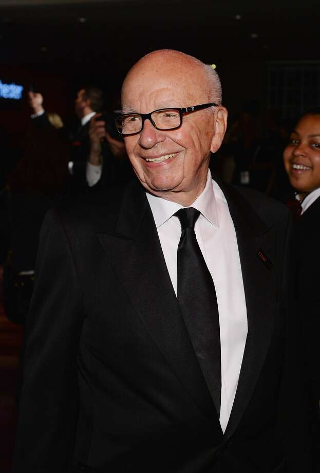 But we're guessing media mogul Rupert Murdoch, who is from Australia, prefers other sports. He's worth $13.6 billion. Photo: Larry Busacca, Getty Images For TIME