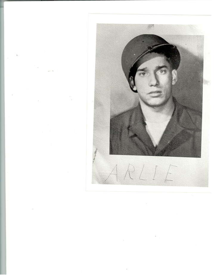 Arlie Ray Horn, as a U.S. Army soldier in 1943 in England. He would invade the continent of Europe on June 6, 1944, in one of the most famous battles in history, known as D-Day. Horn, a native of Magnolia Springs, has lived in Beaumont since 1951. Photo: Arlie Ray Horn