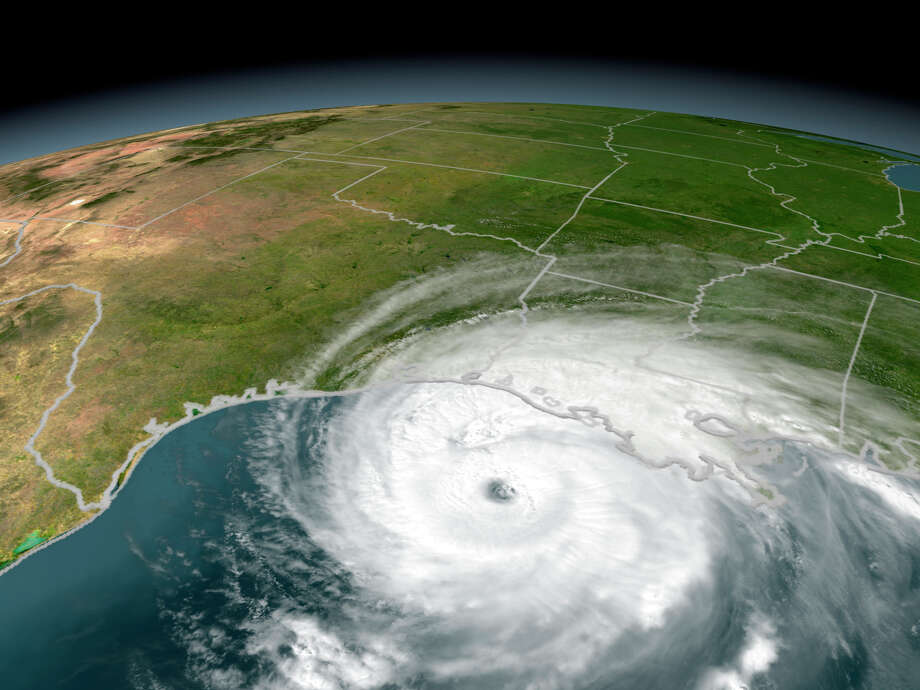 "A so-called Category 5 ""100 Year Hurricane"" hasn't hit Texas since the storm that almost destroyed Galveston in 1900. If one were to hit Texas, here are the landfall locations where the resulting damage would cause the biggest losses in terms of insurance industry payouts. Photo: Stocktrek Images, Getty Images / Stocktrek"