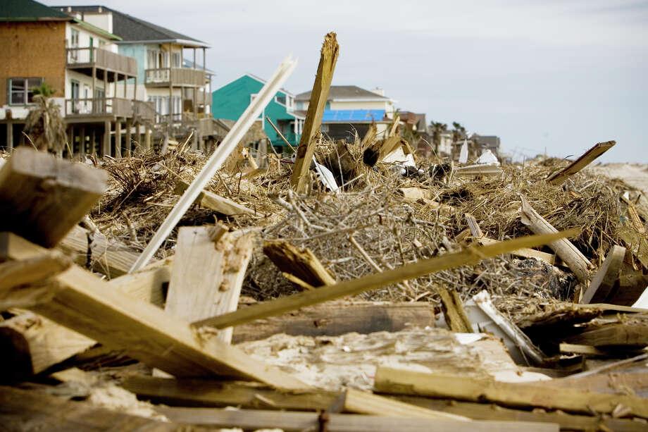 "Landfall Point: Brazoria (see on Google Maps)Estimated Insurance Industry Losses: $20-$25 billion(Source: The 100 Year Hurricane,"" Karen Clark & Company risk assessment) Photo: Eric Kayne, Houston Chronicle / Houston Chronicle"