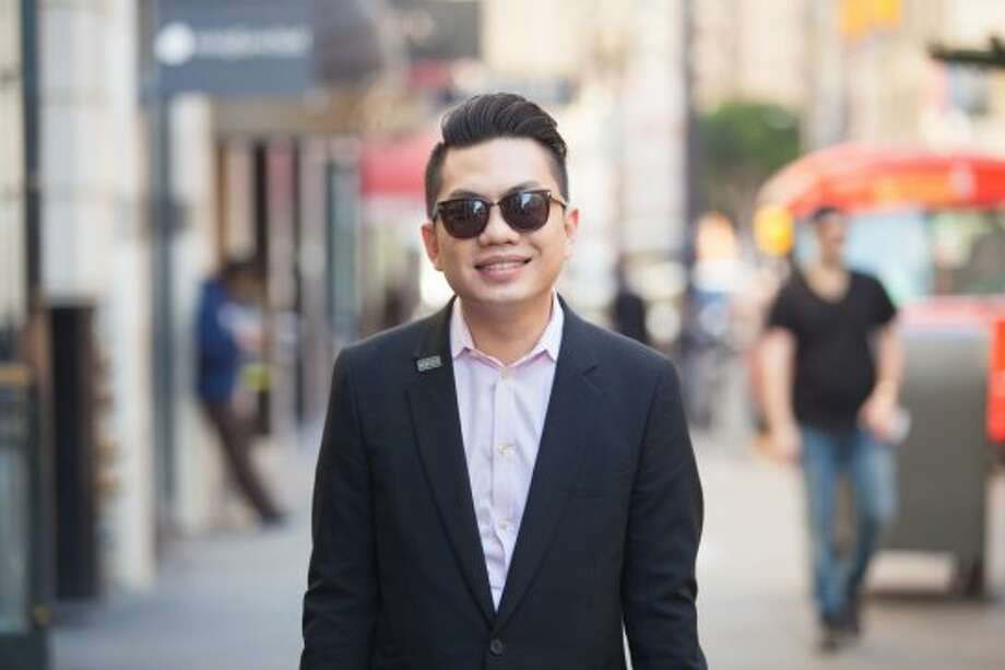 Hung Nguyen considers his style to be formal, yet approachable. Here, he's wearing Tom Ford sunglasses. See more #SFStyle at www.sfgate.com/sfstyle. Photo: Anna-Alexia Basile