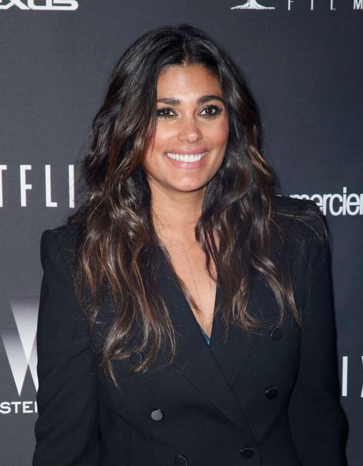 Designer Rachel Roy lines her eyes, but otherwise looks au natural on January 12, 2014 in Beverly Hills, California. Photo: Ari Perilstein, Getty Images For The Weinstein C