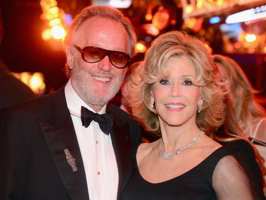 Actor Peter Fonda (L) and honoree Jane Fonda attend the 2014 AFI Life Achievement Award: A Tribute to Jane Fonda After Party at the Dolby Theatre on June 5, 2014 in Hollywood, California. Photo: Frazer Harrison, Getty Images For AFI