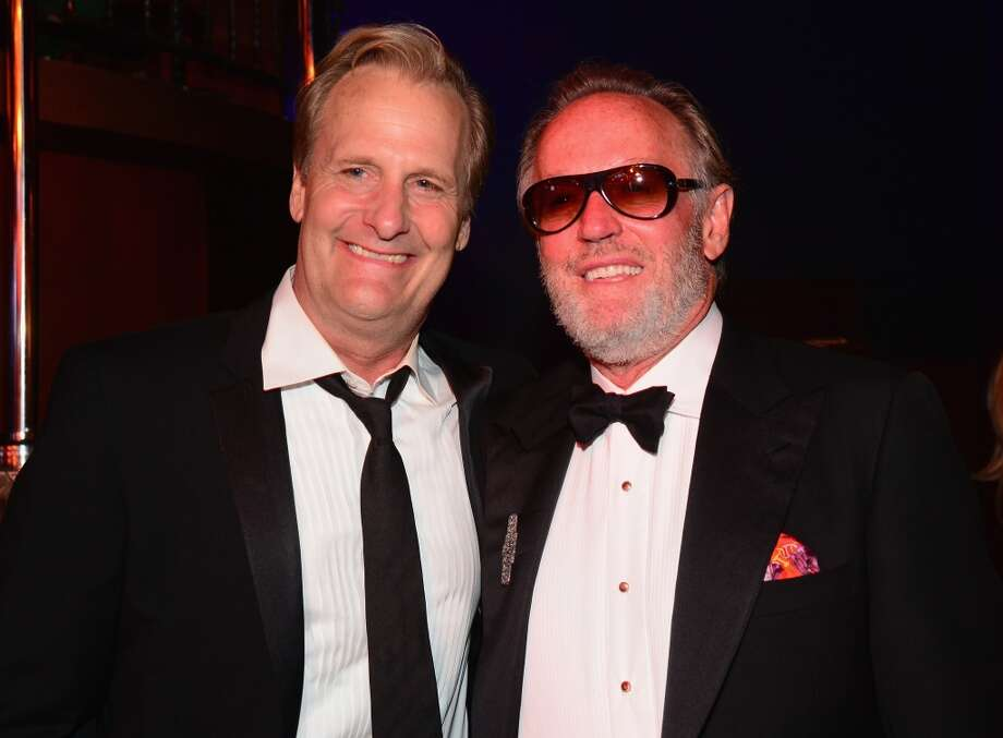 Actors Jeff Daniels (L) and Peter Fonda attend the 2014 AFI Life Achievement Award: A Tribute to Jane Fonda After Party at the Dolby Theatre on June 5, 2014 in Hollywood, California. Photo: Frazer Harrison, Getty Images For AFI