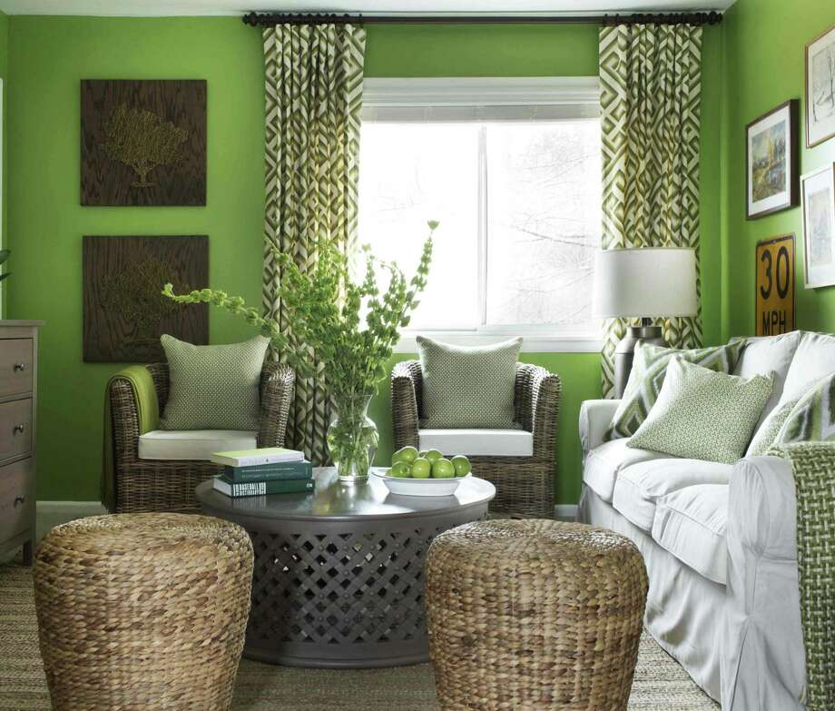 Bright wall colors fabulous with balance and moderation for Neon green room decor