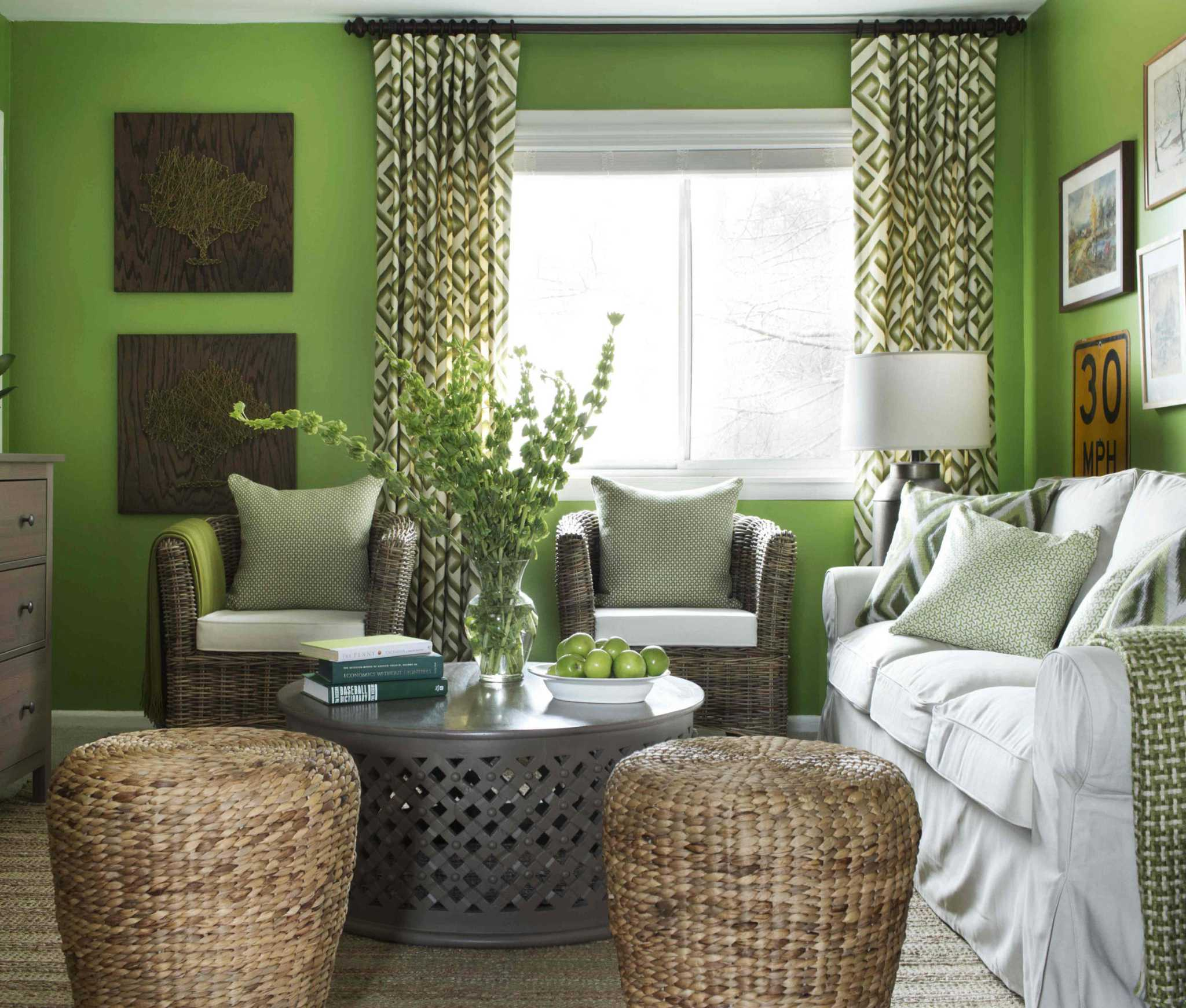 Bright Wall Colors Fabulous, With Balance And Moderation