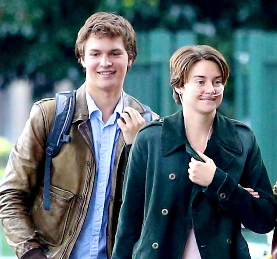 "Ansel Elgort and Shailene Woodley in ""The Fault in Our Stars."" Photo: 20th Century Fox 2-14"
