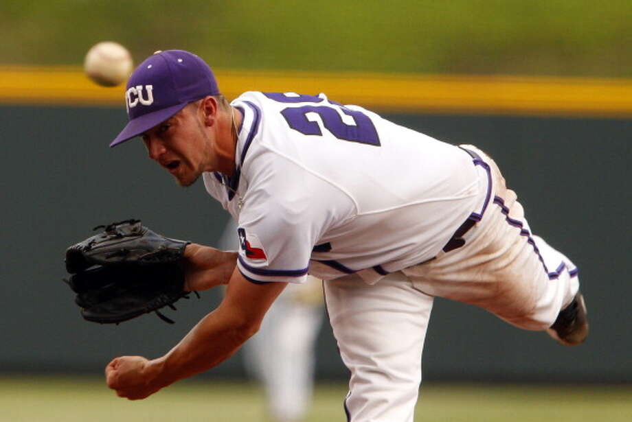 Brandon Finnegan, TCU, LHP  Kansas City Royals - 1st round - 17th overall Photo: Fort Worth Star-Telegram, MCT Via Getty Images / 2013 MCT