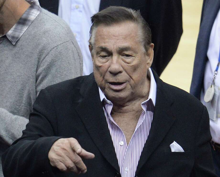 That might be perfect for outgoing Los Angeles Clippers owner and real estate tycoon Donald Sterling, whose views on race apparently date to the 19th century as well. He's worth $1.9 billion. Photo: ROBYN BECK, AFP/Getty Images / AFP