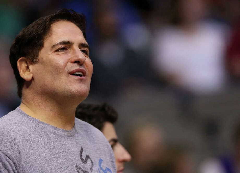 But tech entrepreneur Mark Cuban, who owns the Dallas Mavericks, must be used to that, being in nearby Dallas. He also causes many storms, of the metaphorical variety, with his mouth. Photo: Ronald Martinez, Getty Images / 2013 Getty Images