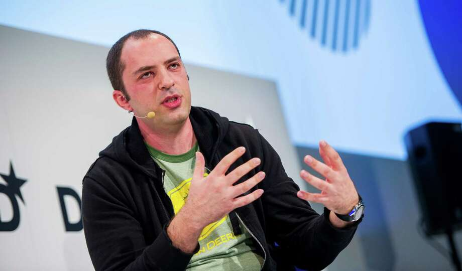 So is Jan Koum, chief executive and co-founder of messaging service WhatsApp. Photo: MARC MéœLLER, Staff / DPA
