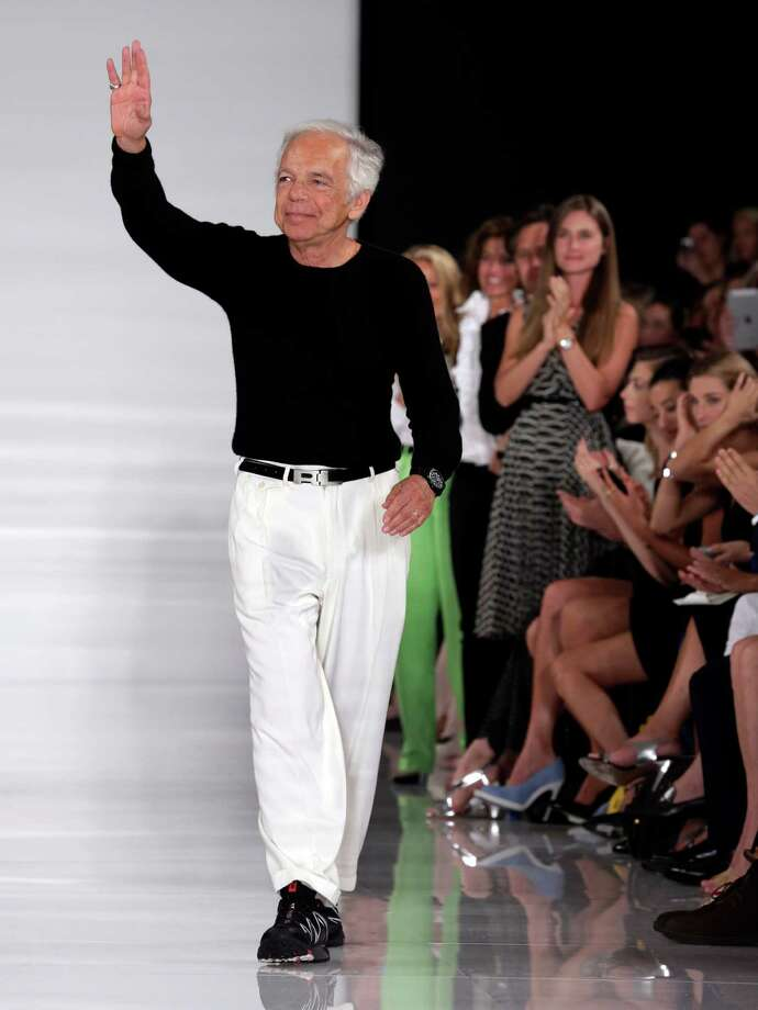 Perhaps not enough for designer Ralph Lauren, but he couldn't afford Paris. Photo: Richard Drew, STF / AP