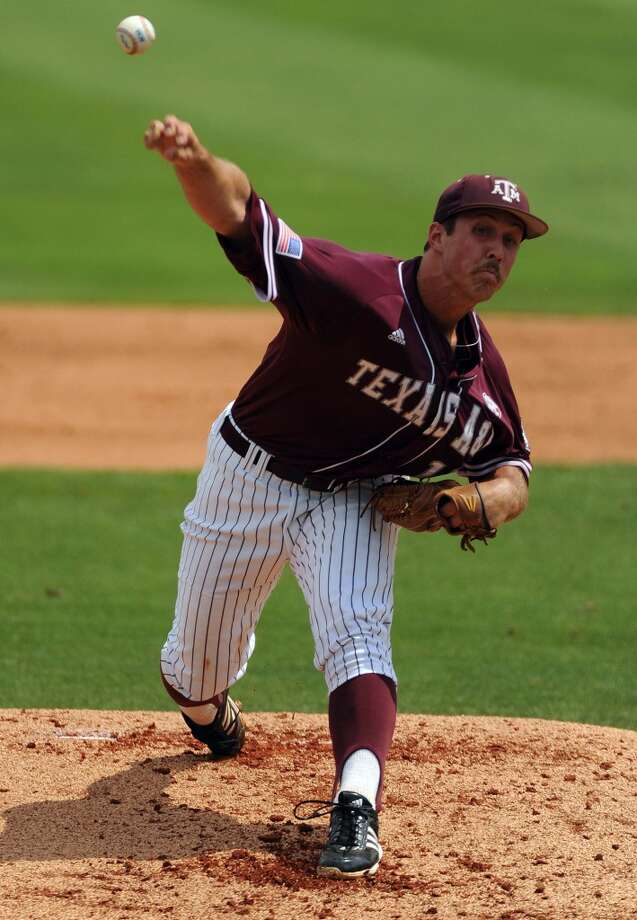 Daniel Mengden - Texas A&M, RHP  4th round, No. 106 - Houston Astros  Not pictured:  Eudor Garcia-Pacheco, El Paso CC (Texas), 3B  4th round, No. 115 - New York Mets  Robbie Dickey, Blinn College (Texas), RHP  4th round, No. 124 - Washington Nationals  Zach Thompson, RHP, University of Texas - Arlington  5th round, No. 138 - Chicago White Sox Photo: Eric Christian Smith, For The Chronicle