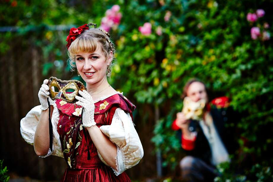 "Jennifer Le Blanc as Beatrice in Livermore Shakespeare's ""Much Ado About Nothing"" Photo: Gregg Le Blanc"