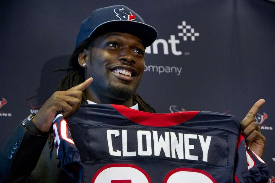 1st round (1st overall): Jadeveon Clowney, DE, South Carolina, 6-5, 266.  How will he be used this season? Although a slightly less imposing physical specimen than Mario Williams, the Texans' and the NFL's top overall choice in 2006, Clowney is a more finished product and should be able to handle more force-feeding from the outset. Still, look for Crennel to find ways to exploit Clowney's once-in-a-generation pass-rushing gifts rather than asking him to be an all-around, every-down force as a rookie. While he will be more than a situation player, he definitely will get showcased in situations when he can wreak the most havoc. Photo: Brett Coomer, Houston Chronicle