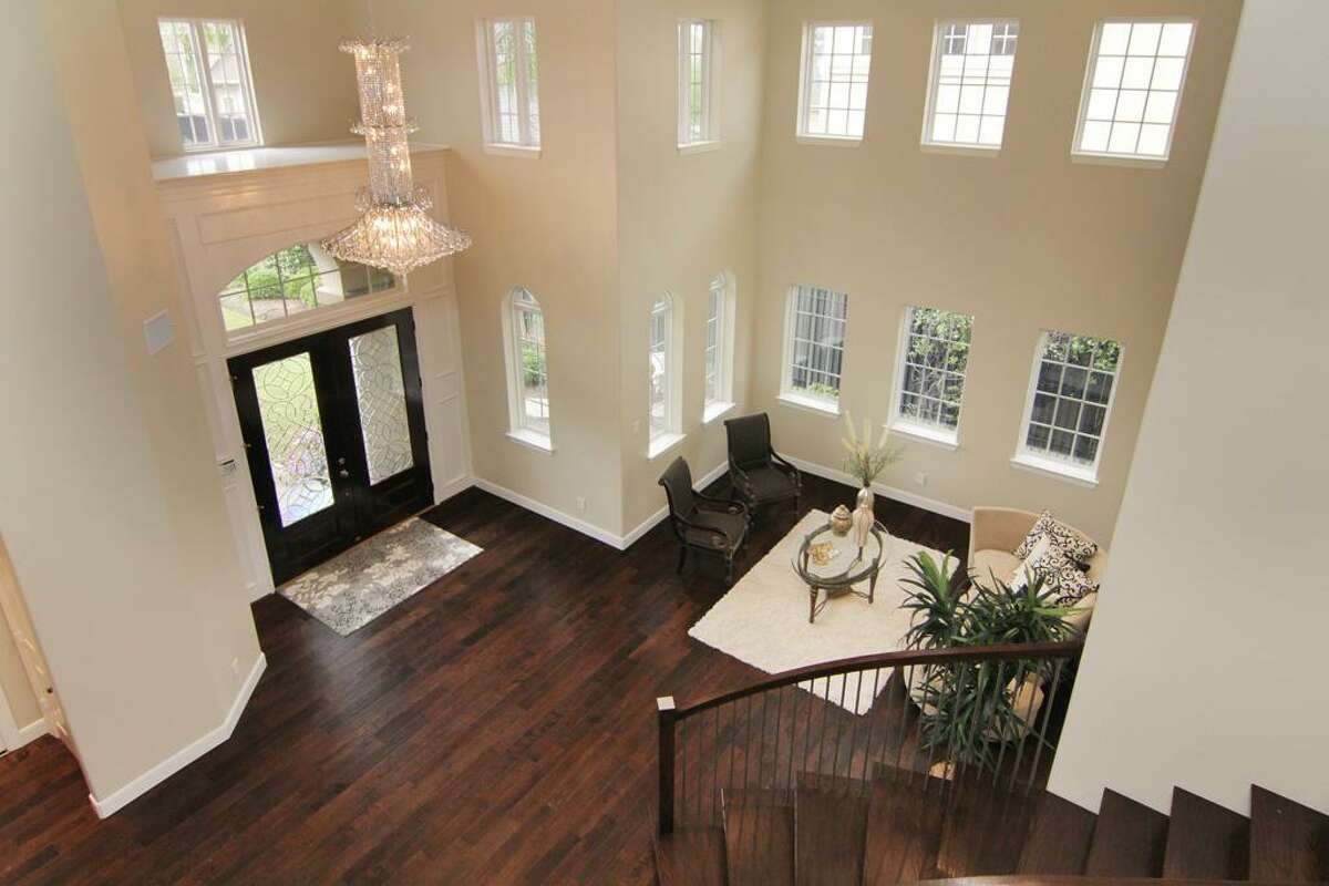 11402 Noblewood : This 2002 home in Houston has 6 bedrooms, 5.5 bathrooms, 5,355 square feet, and is listed for $1,300,000. Open House: June 8, 2014, from 2 p.m. to 4 p.m.