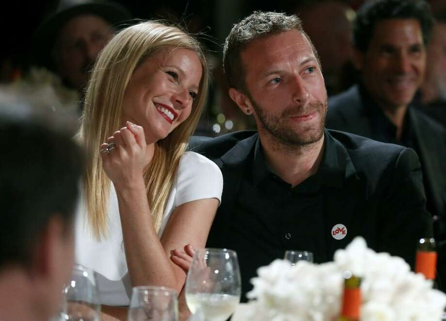 "Gwyneth Paltrow and Coldplay singer Chris Martin ""consciously uncoupled"" in an announcement via Paltrow's Goop site. Photo: Colin Young-Wolff, Associated Press"