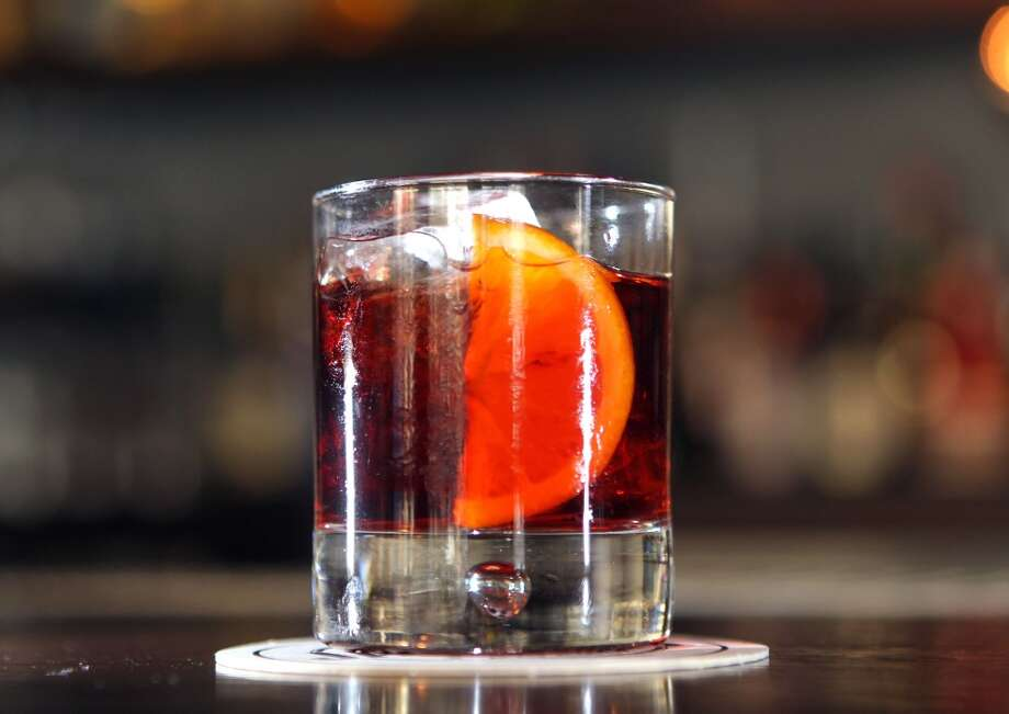 Jasper's Corner Tap's Negroni in San Francisco. Photo: Lance Iversen, The Chronicle
