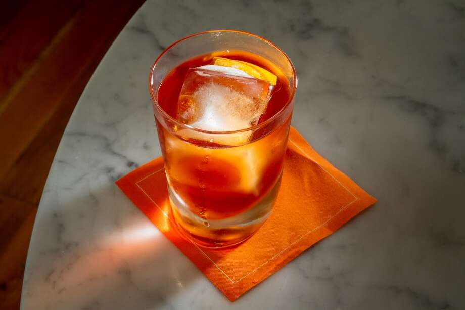 Frank's Negroni at Ciccio in Yountville. Photo: John Storey, Special To The Chronicle