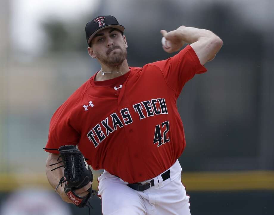 Chris Sadberry - Texas Tech, LHP  6the round, No. 167 overall - Miami Marlins Photo: Alan Diaz, Associated Press