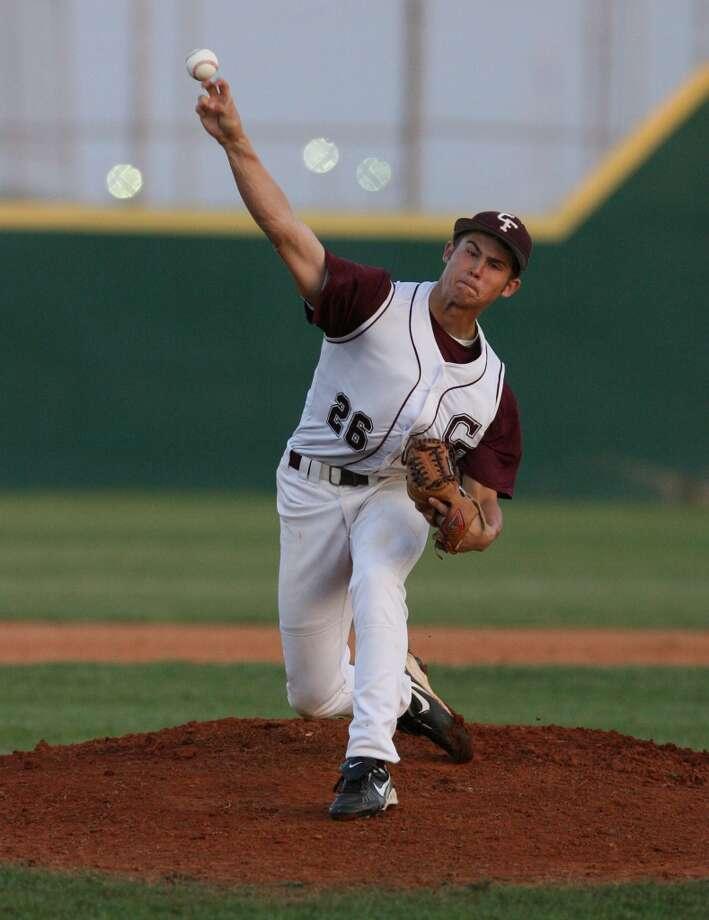 Seth Harrison Louisiana-Lafayette (Cy-Fair High School), CF  7th round - No. 208 overall - San Francisco Giants Photo: Billy Smith II, Houston Chronicle