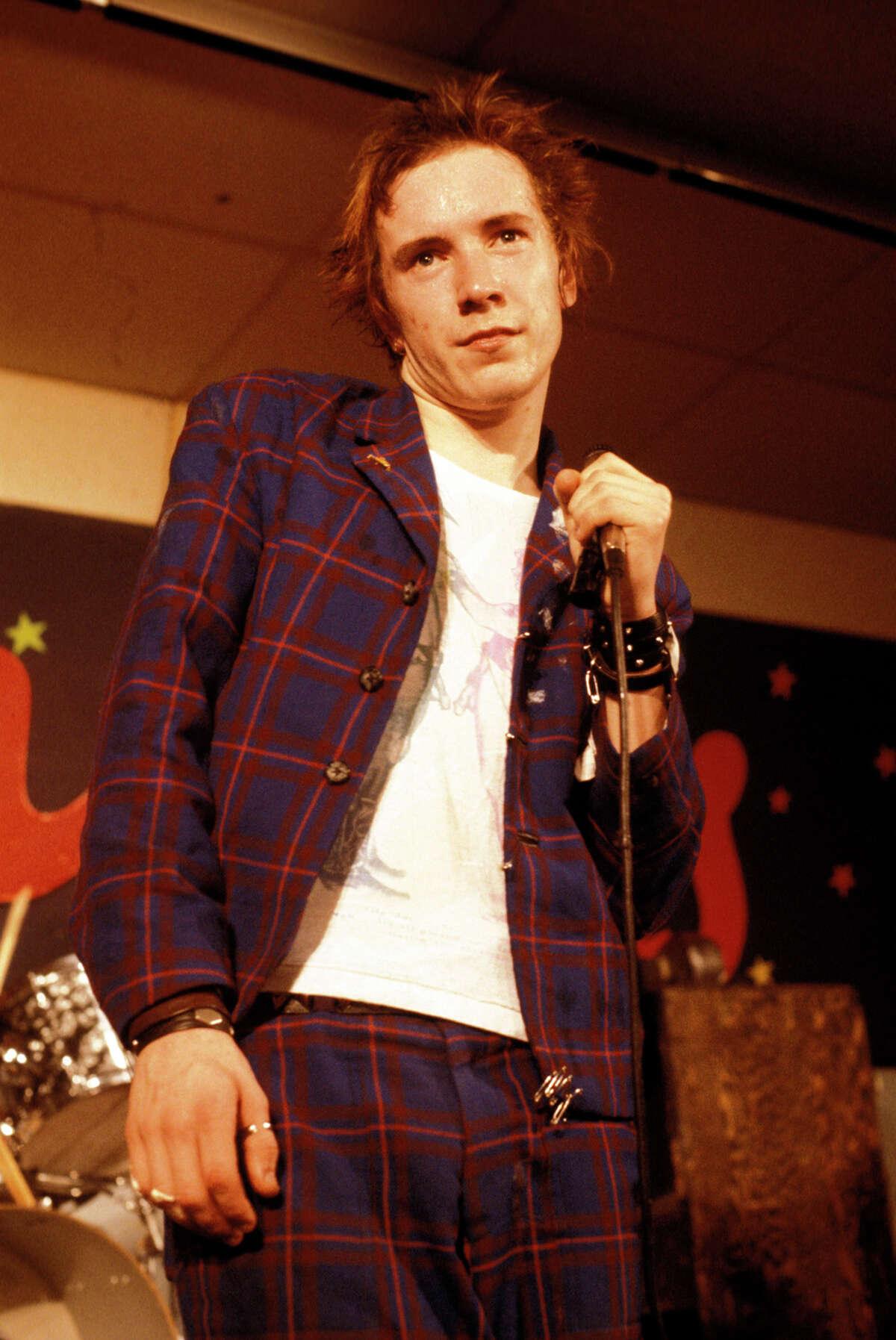 Johnny Rotten and The Sex Pistols perform at Randy's Rodeo Nightclub in San Antonio on Jan. 8, 1978.