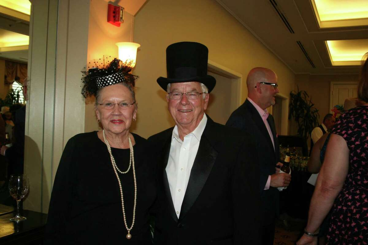 Honorary chairs former Rosenberg Mayor Joe Gurecky and his wife, Doris, looked like they had just stepped out of the pages of GQ or Vogue.