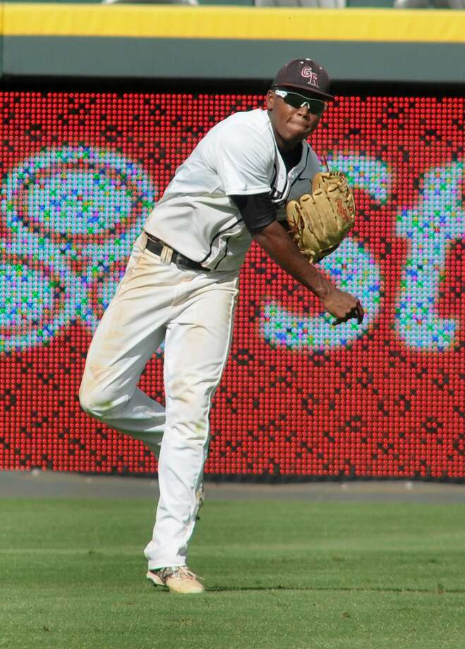 Stone Garrett - George Ranch High School (Houston), CF  8th round, No. 227 overall - Miami Marlins Photo: Jerry Baker, For The Chronicle