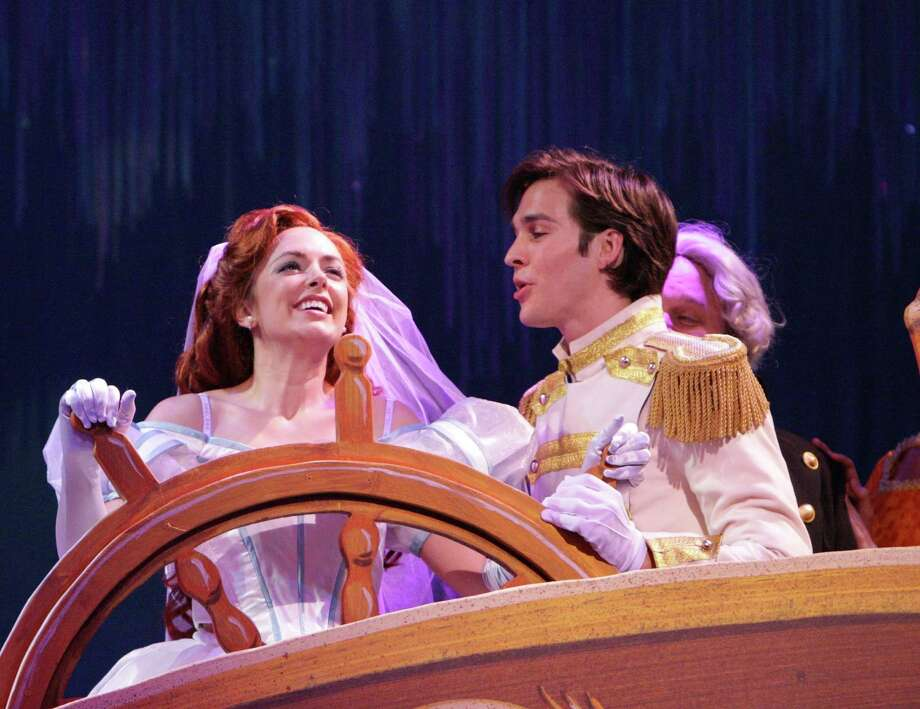 """Christopher Charles Wood stars as Prince Eric and Desi Oakley stars as Ariel in """"The Little Mermaid."""" Photo:  Photo By Christopher Clark / ONLINE_YES"""