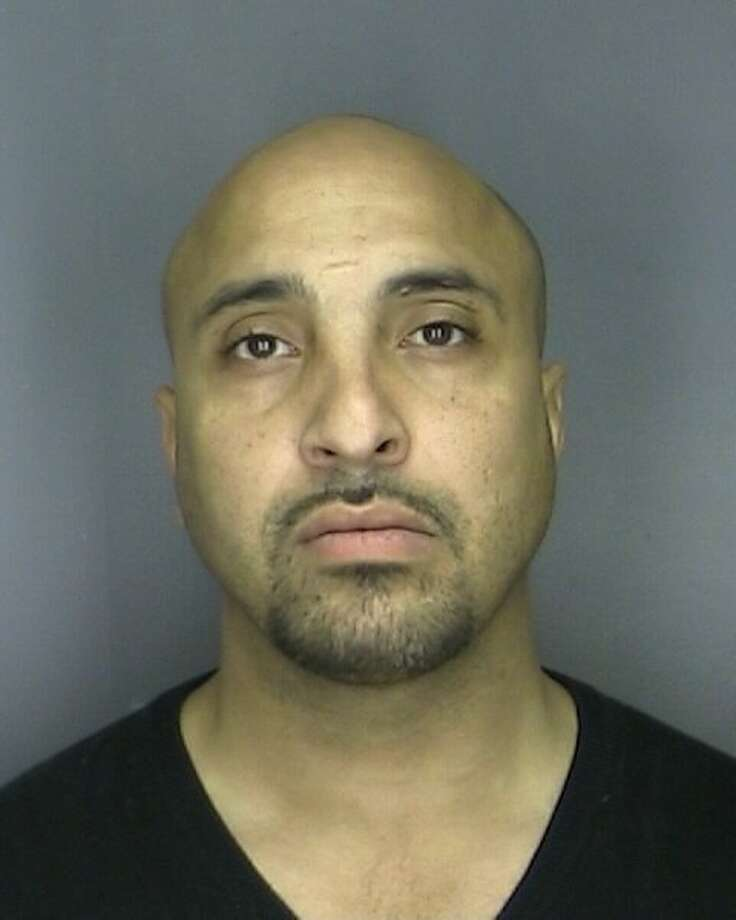 Jesus Rodriguez faces several charges after a chase in Rensselaer County on June 6, 2014. (Rensselaer police photo)