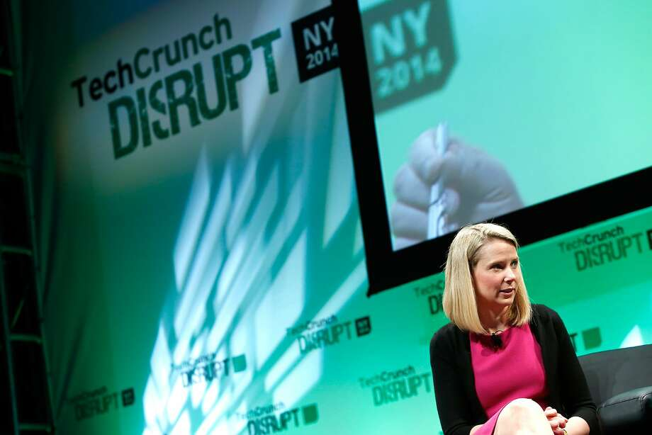 Yahoo CEO Marissa Mayer has seen the company benefit overall from its 23 percent stake in Alibaba. Photo: Brian Ach, Getty Images For TechCrunch