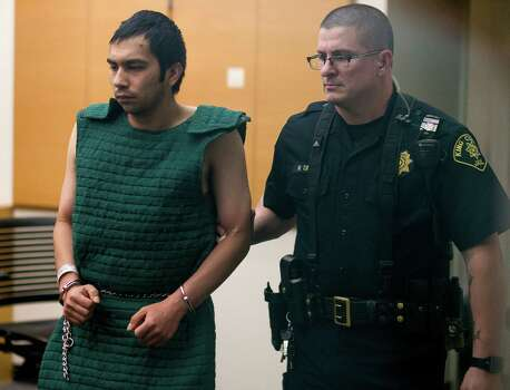 Aaron R. Ybarra, 26, suspect in the Seattle Pacific University shooting that left one dead and others injured, stands in at his bail hearing Friday, June 6, 2014, in downtown Seattle, Wash. Ybarra has a history with mental illness, and delusions as a result are said to be the reason for his actions at SPU. Photo: JORDAN STEAD, SEATTLEPI.COM / SEATTLEPI.COM