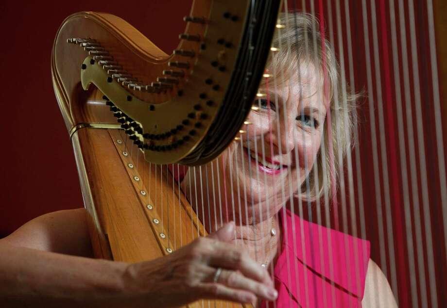 Paula Page spent 30 years as the Houston Symphony's principal harpist. Photo: J. Patric Schneider, Freelance / © 2014 Houston Chronicle