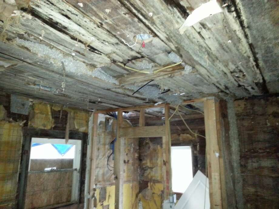 The house at 121 Payne in the Germantown Historic District received a violation letter from the city of Houston after an inspector examined it. Photo: City Of Houston