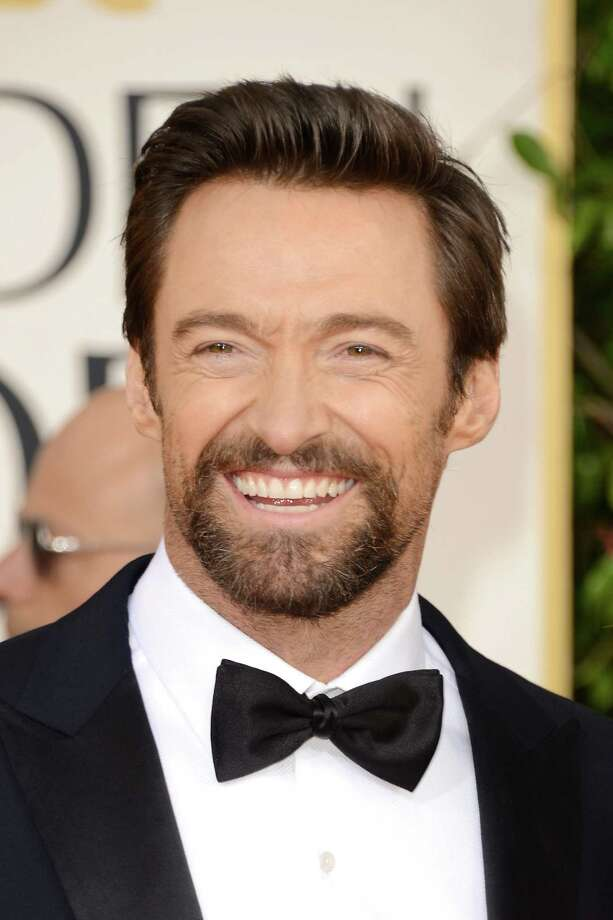 BEVERLY HILLS, CA - JANUARY 13:  Actor Hugh Jackman arrives at the 70th Annual Golden Globe Awards held at The Beverly Hilton Hotel on January 13, 2013 in Beverly Hills, California.  (Photo by Jason Merritt/Getty Images) Photo: Jason Merritt, Staff / 2013 Getty Images