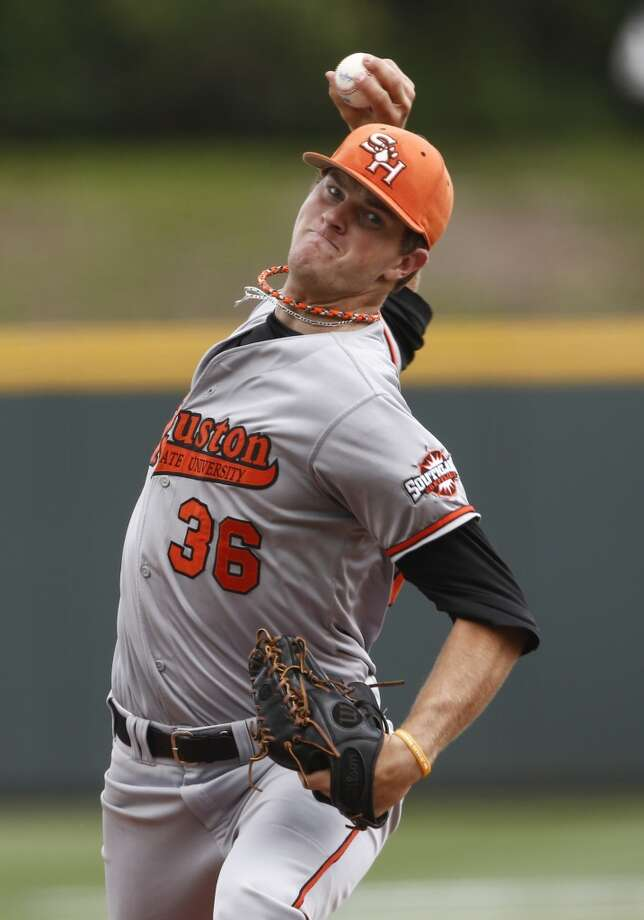 Tyler Eppler, Sam Houston State, RHP  6th round, No. 191 overall - Pittsburgh Pirates Photo: Jim Cowsert, Associated Press