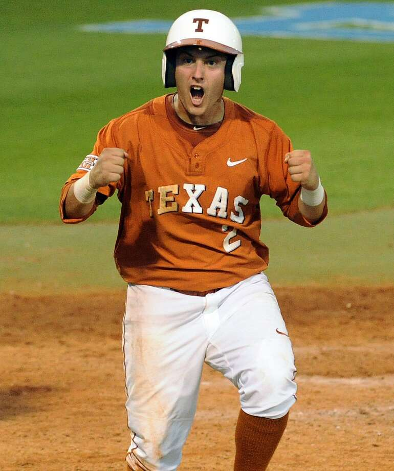 Mark Payton - Texas, CF  7th round, No. 212 overall - New York Yankees Photo: Eric Christian Smith, Associated Press