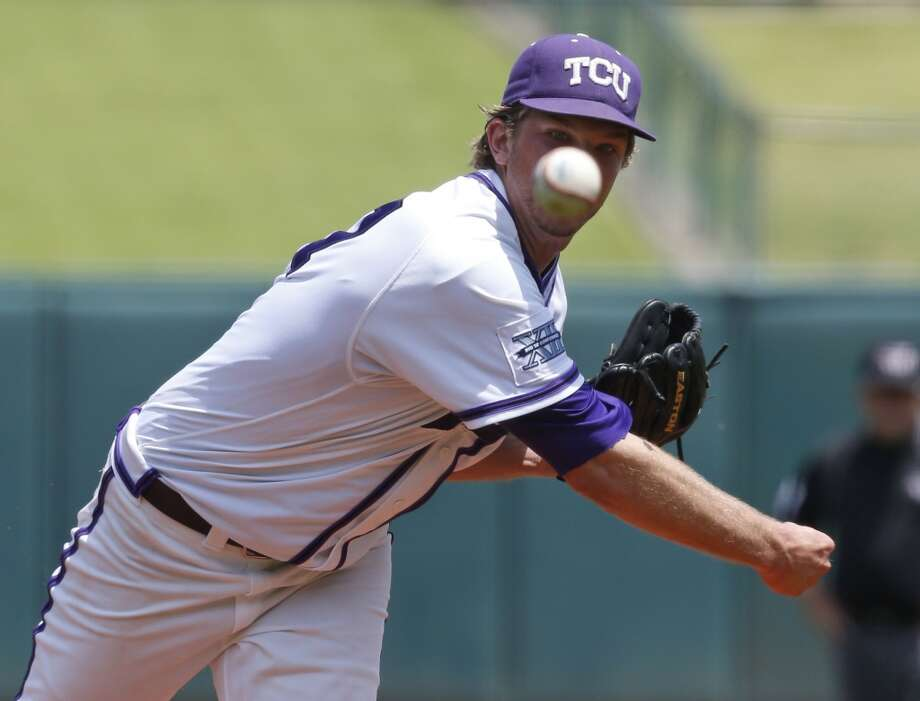 Jordan Kipper - TCU, RHP   9the round, No. 269 overall - Los Angeles Dodgers Photo: Sue Ogrocki, AP